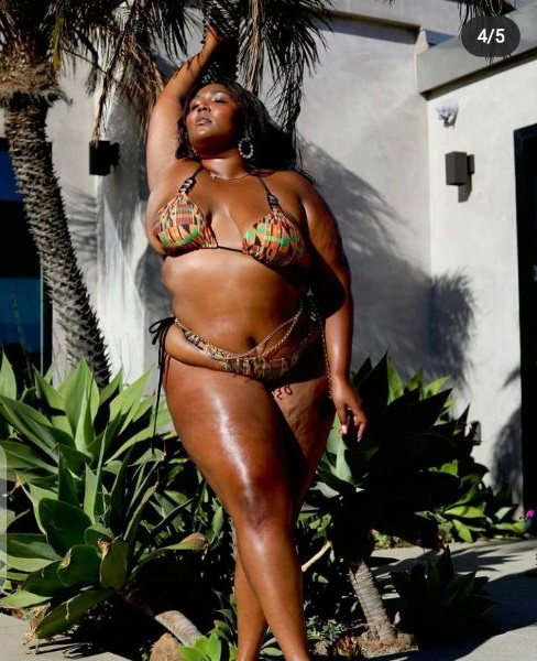 American Singer Lizzo, Causes A Stir As She Shares New Pictures On Instagram [WATCH]