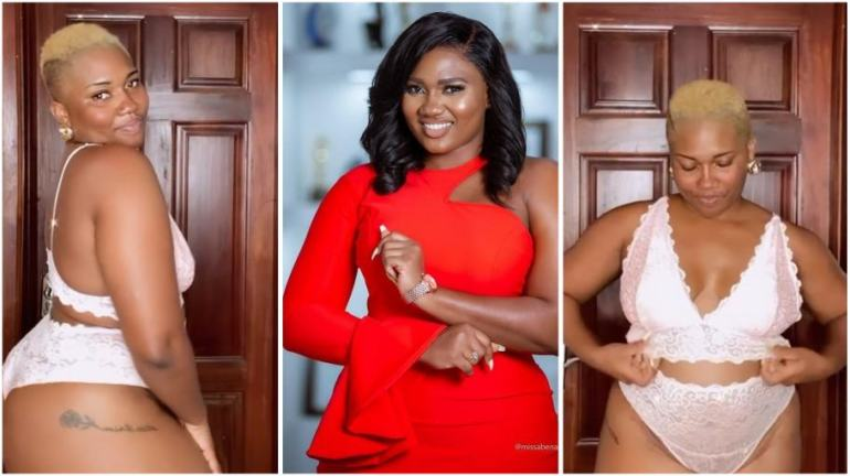 Abena Korkor drops jaws as she flaunts her raw curves in new badgirl video [watch]