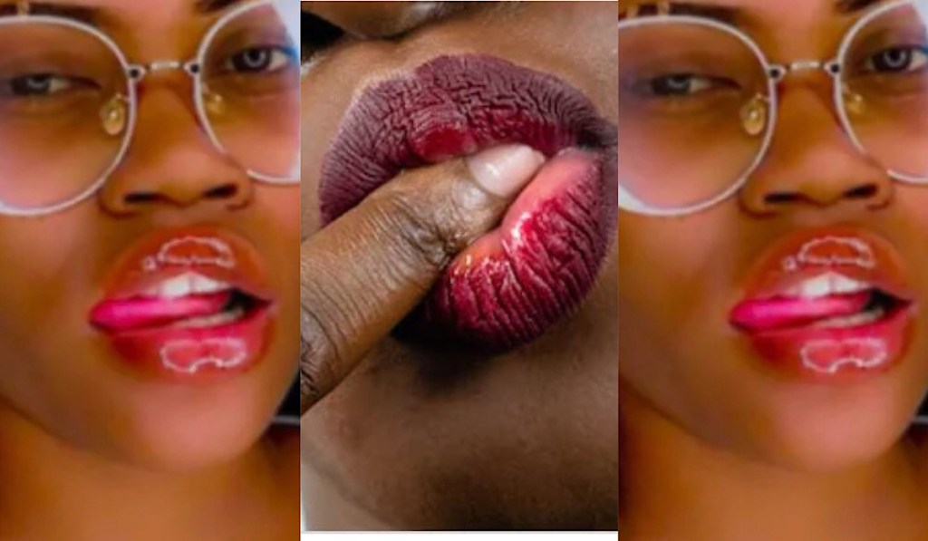 """""""If a guy licks me out when I'm on my period, I'll respect him more"""" – Lady says [Watch]"""