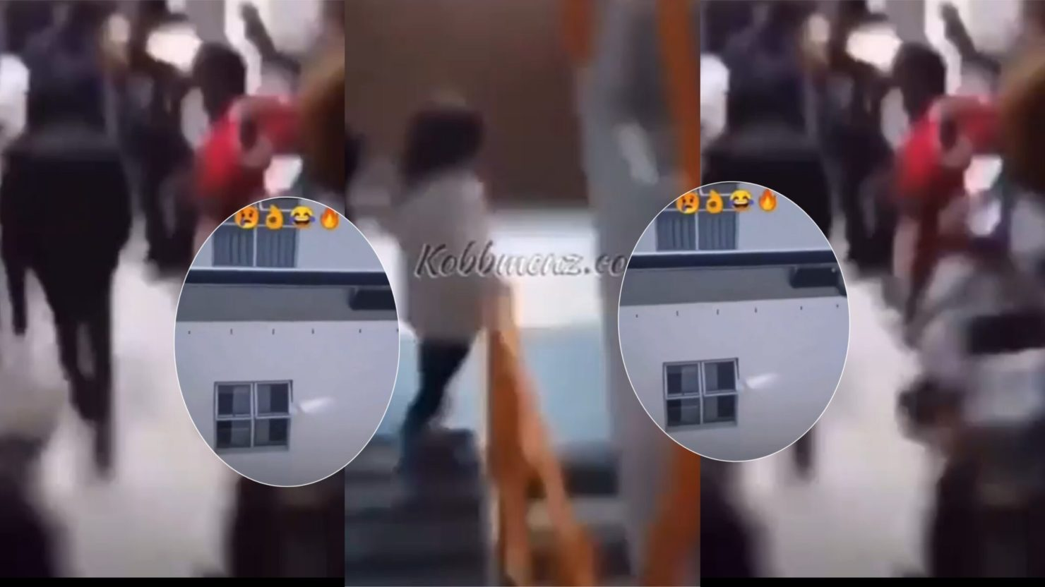 Students Troop To Hail Colleague After F!ring A Lady Hard In Bed [Watch Video]