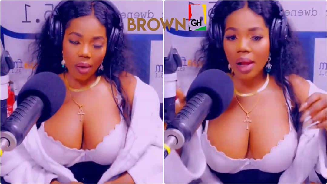 Mzbel shows her huge 'melons' in latest video