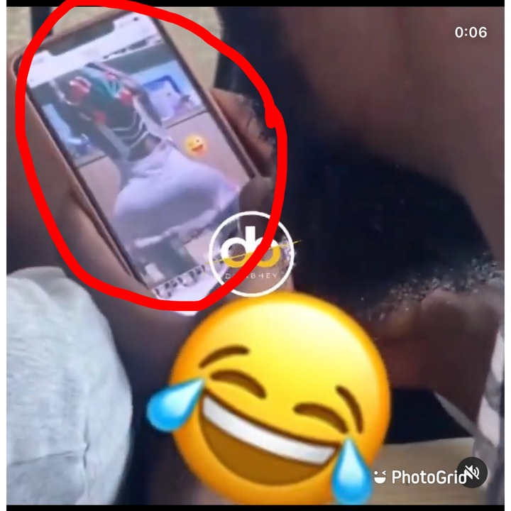 University Students Caught Watching A Video Of A Lady Twerking On Their Phone Whiles In Class [WATCH]