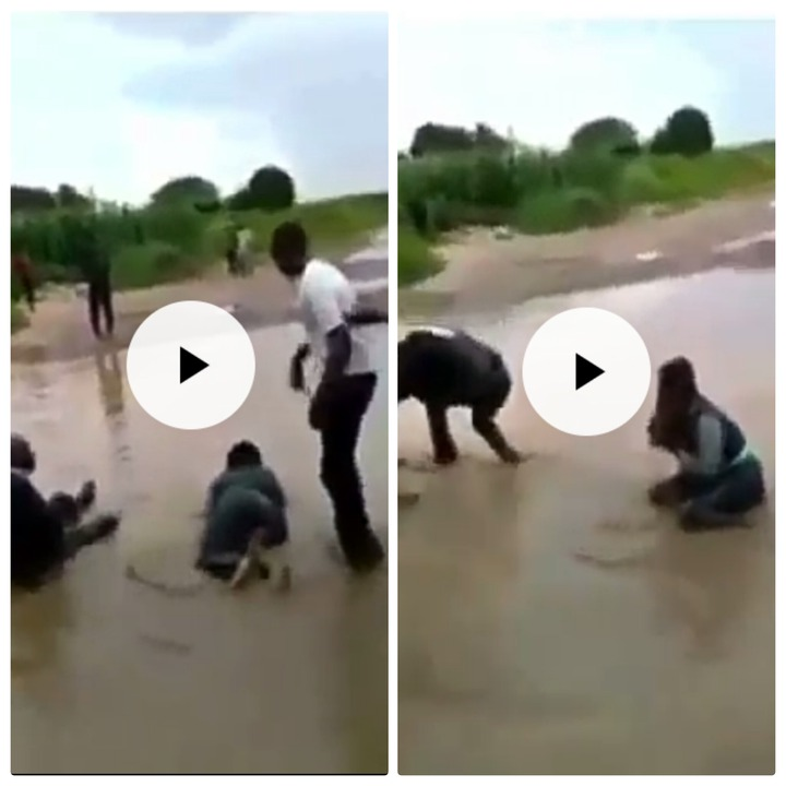 Husband Found Her Wife With Another Man And Did This To Them In The River [WATCH]