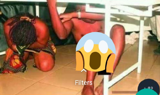 Doctor Caught Red Handed Making Out With Female Patient In A Ward [WATCH]