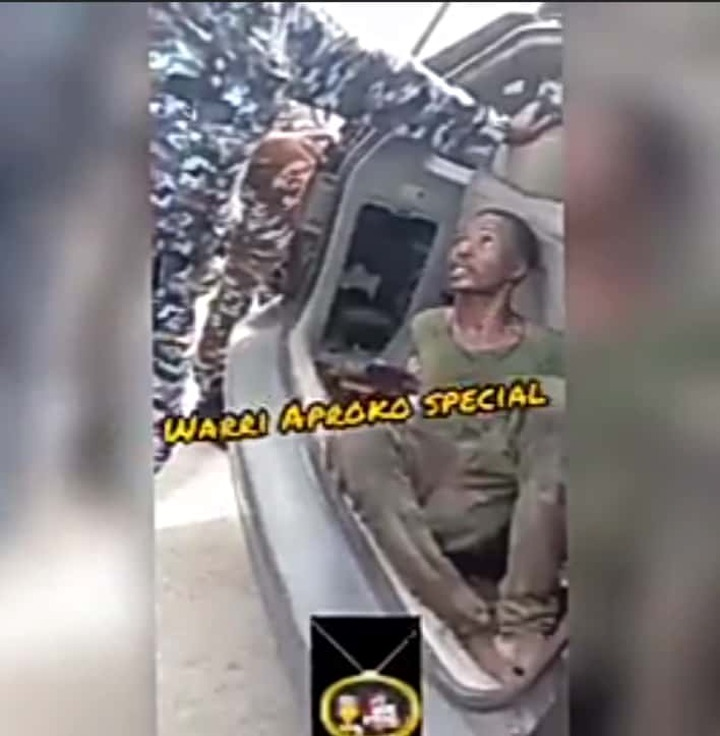 Watch How A Thief Was Beaten By Church Members For Trying To Steal Church Property [VIDEO]