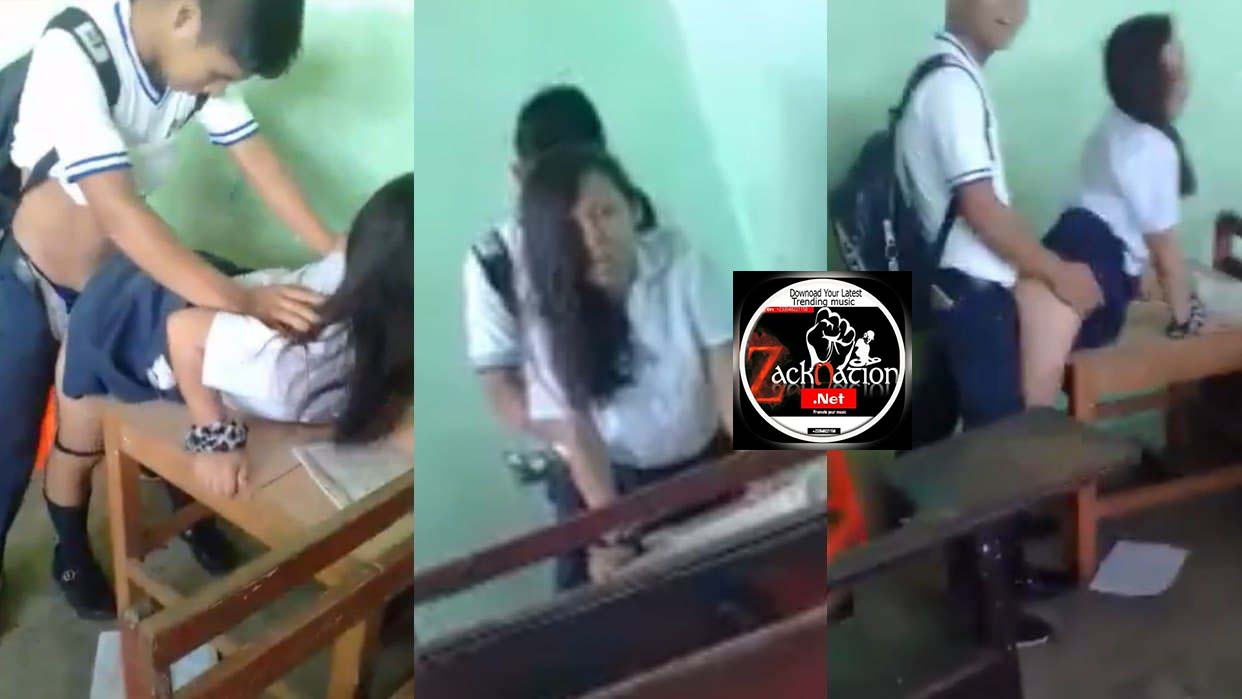 Watch What This 4 SHS Student Were Doing To One Girl In A Classroom (Video)