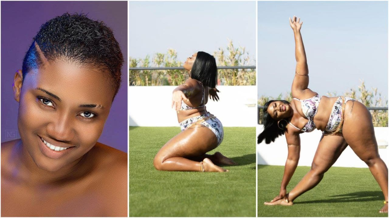 Abena Korkor drops jaws as she displays wild moves in new badgirl video [watch]