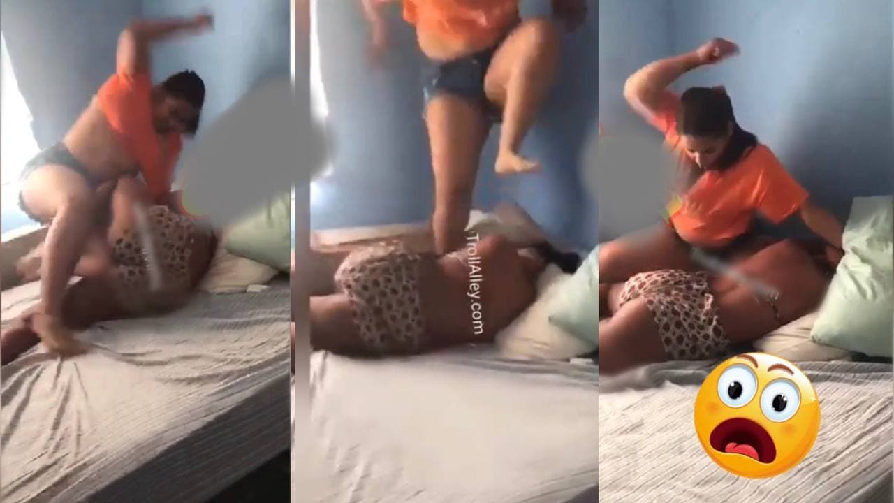Viral Video Of Two Sisters F!ghting 0ver Man Causes St!r On Social Media [Watch Now]