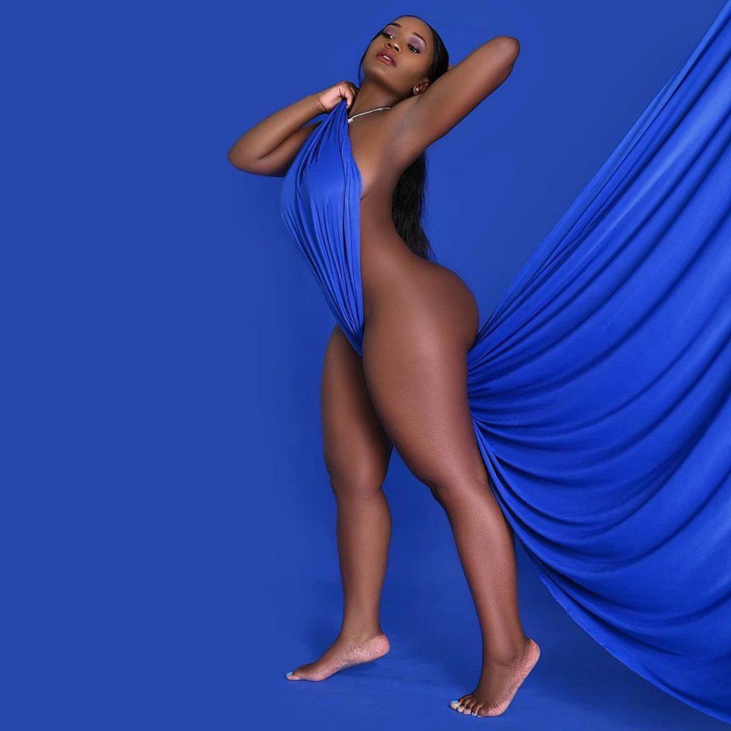 Sherlyn Anyango: Kenyan Socialite Puts Her 100GB Body On Full Display Causing A Stir Online (PHOTOS)